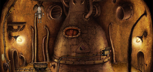 *Machinarium Review Loveable bolts and bits