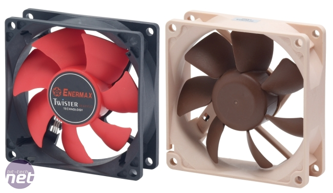 What's the best 80mm and 92mm fan? 80mm Fan Reviews, Enermax and Noctua