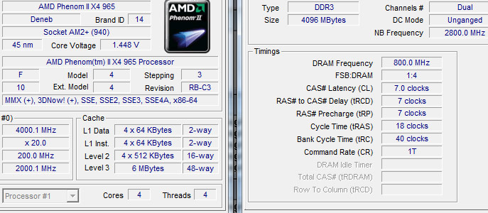 AMD Phenom II X4 965 BE C3 Review CPU and Memory Overclocking: Improvements?