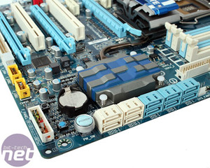 Gigabyte GA-P55-UD5 Review Board Layout and Detail
