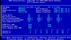 Gigabyte GA-P55-UD5 Review Rear I/O and BIOS