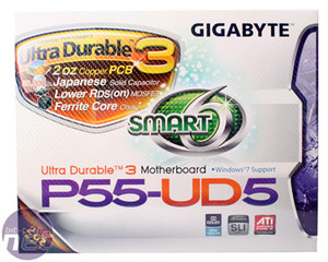 Gigabyte GA-P55-UD5 Review Gigabyte GA-P55-UD5 Motherboard Review