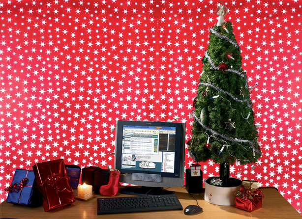 A PC in a Christmas Tree The Project Christmas Tree Archives