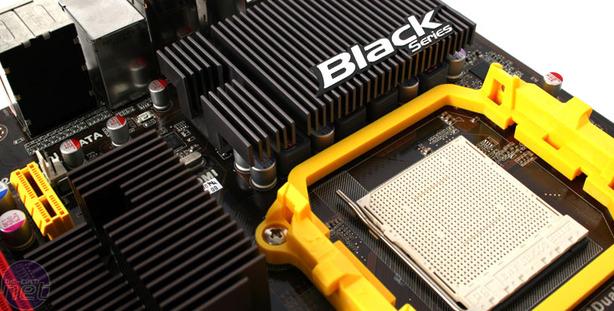 ECS A785GM-M Black Series Review Test Setup