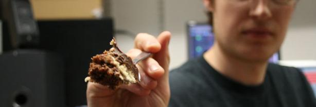 *The bit-tech Cheesecake Supertest 2 Gü Choc and Vanilla Cheesecake