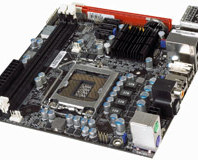 DFI MI P55-T36 mini-ITX motherboard review