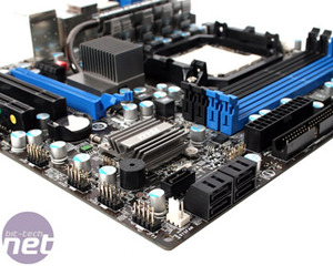 MSI 785GM-E65 Motherboard Review Board Layout and Rear I/O