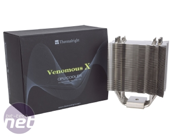 Thermalright Venomous-X CPU Cooler Review