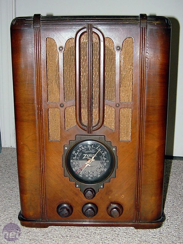 1930s Radio on old radios from 1920s