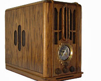 Art Deco Zenith 5-s-29 Radio Case Mod