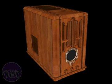 Art Deco Zenith 5-s-29 Radio Case Mod Modelling