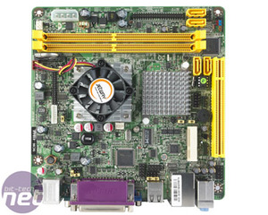 Intel Pineview review and Jetway mini-ITX Jetway NC96-410-LF (Single Core Atom)