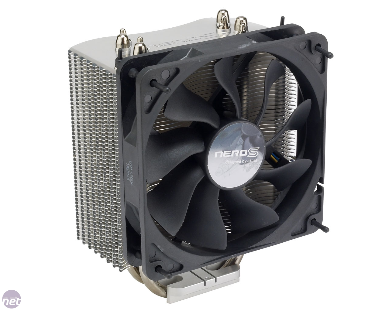 Akasa Nero S Cpu Cooler Review Fan Processor Lga 775 Original