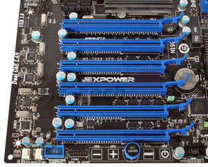 First Look: MSI XPower X58 and 890FX-GD70 First Look: MSI XPower X58 Big Bang Motherboard