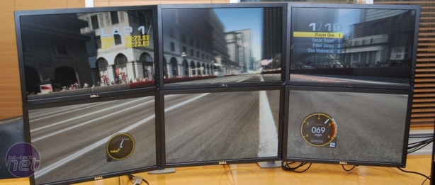Hands on with 6-screen ATI Eyefinity Gaming on 6-screen Eyefinity, and Final Thoughts