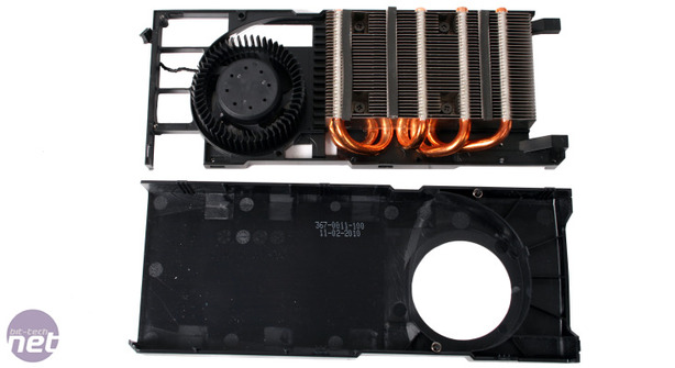 Nvidia GeForce GTX 470 1,280MB Review Cooling and the PCB