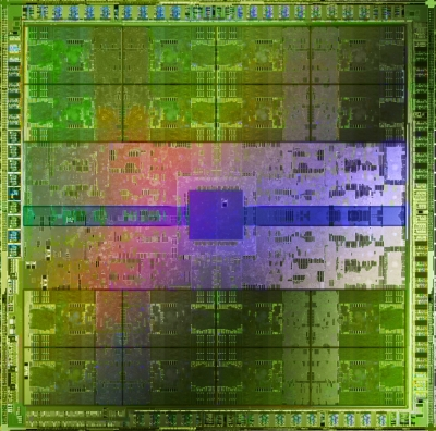 A Fermi GPU. Click to enlarge