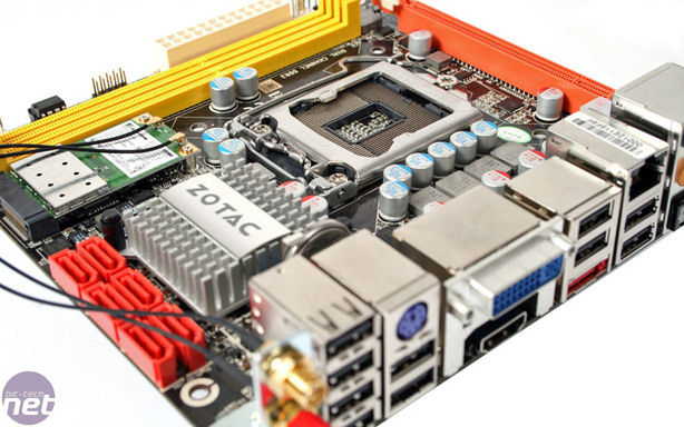 Zotac H55ITX-A-E Motherboard Review Board Layout