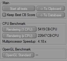 AMD Phenom II X6 1090T Black Edition Cinebench and WPrime