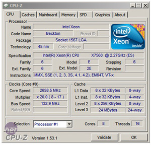 Intel Xeon X7560: Nehalem EX Review Up Close: Intel Xeon X7500-series