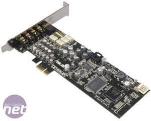 Sub-£100 Gaming Sound Card Reviews Asus Xonar DX PCI-E 7.1 Gaming Sound Card Review