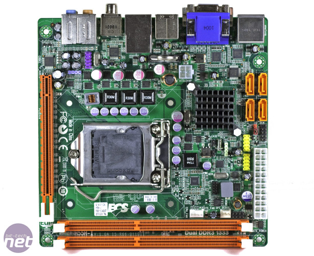 ECS H55H-I mini-ITX Motherboard Review ECS H55H-I mini-ITX motherboard review