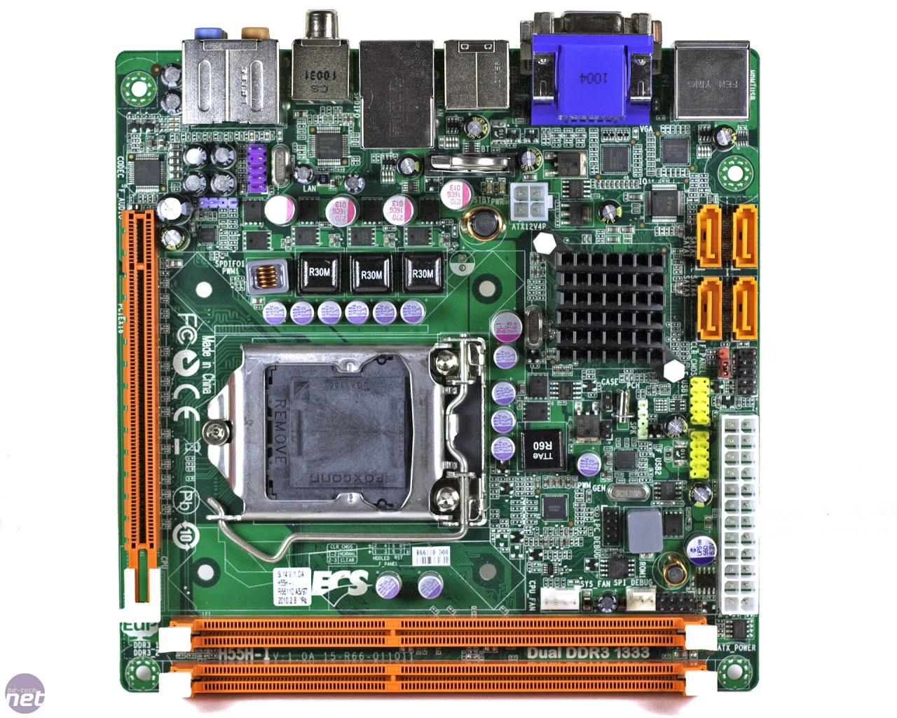 ECS H55H-I mini-ITX Motherboard Review | bit-tech net