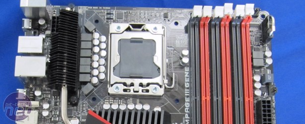 First Look: Asus Rampage III Gene, Quad SLI, Ares HD 5970 First Look: Asus Rampage III Gene