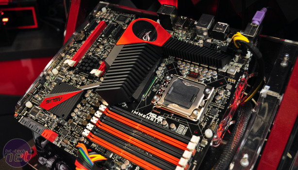Asus Immensity: ROG board with on-board HD 5770 Asus Immensity: ROG board with on-board HD 5770