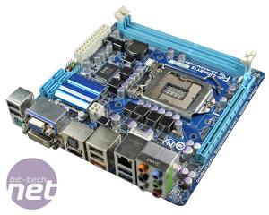 *Gigabyte GA-H55N-USB3 mini-ITX Motherboard Review GA-H55N-USB3 Layout