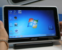 MSI WindPad 100 and 110 Tablet PC Hands on