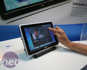 MSI WindPad 100 and 110 Tablet PC Hands on MSI WindPad 100 Hands On