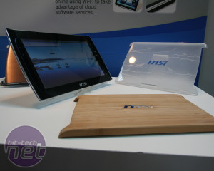 MSI WindPad 100 and 110 Tablet PC Hands on MSI WindPad 110 Tablet PC Preview