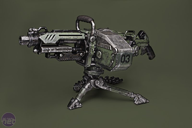 Nerf Guns Painted Black