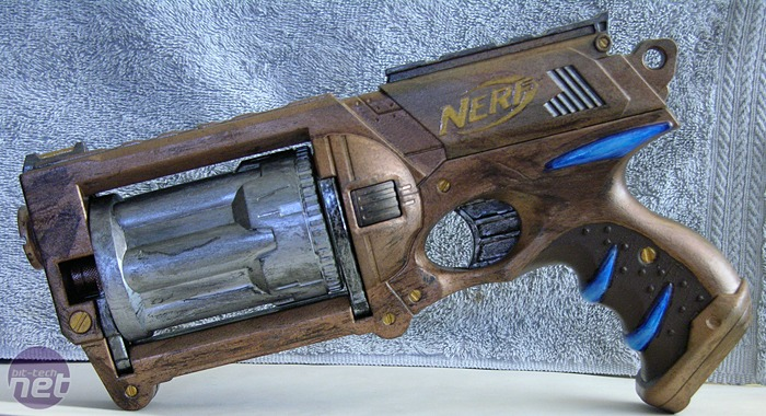 Hardcore Nerf fans love to repaint and modify their hardware. Sounds  familiar.
