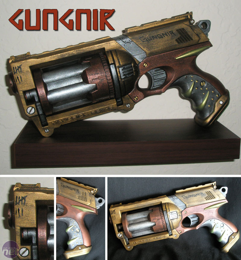 Steampunk painted Nerf gun - Maverick (Left side) by TtheD ...