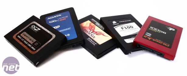 SandForce SSD Group Test SandForce 100GB SSD Group test