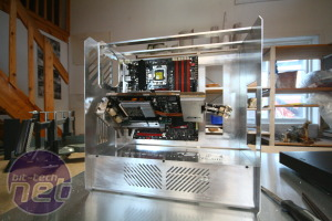 *ARES by Sleepstreamer Frame, PSU compartment and I/O panel