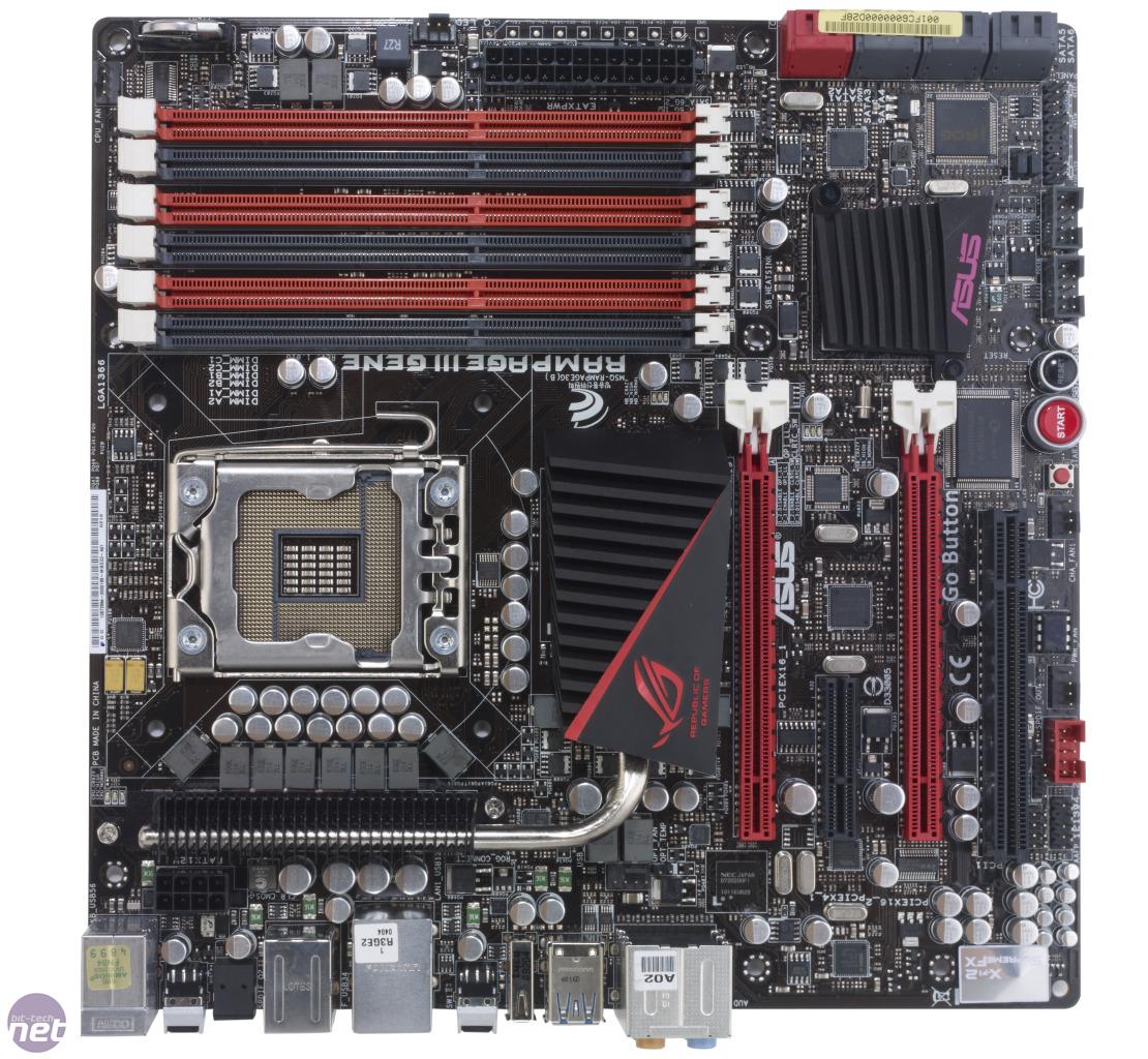 asus rampage iii gene motherboard review bit tech net rh bit tech net