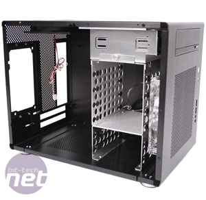 Lian Li PC-Q08 mini-ITX Case Review Lian Li PC-Q08 Interior