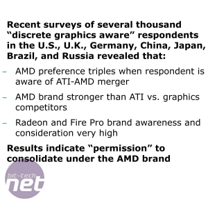 *AMD to Ditch the ATI Brand AMD to Ditch the ATI Brand