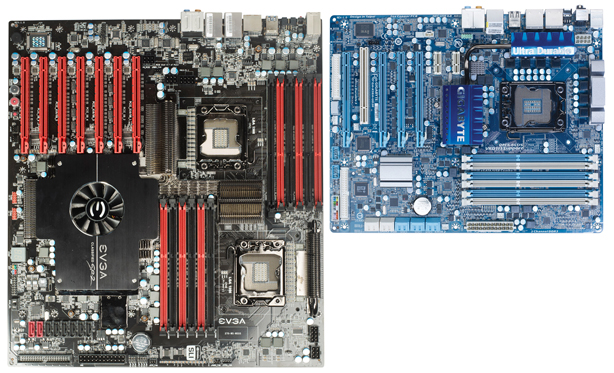 EVGA Classified SR-2 Review EVGA Classified SR-2 Layout