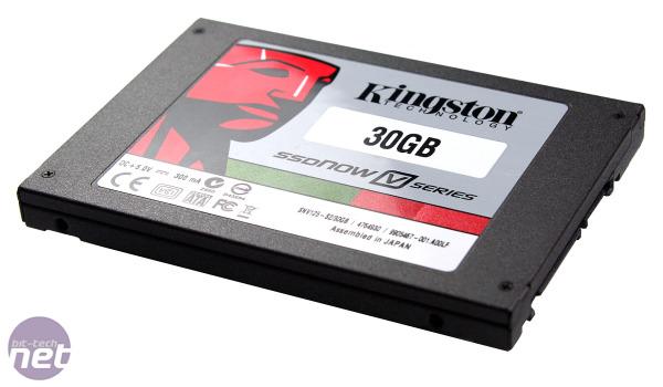 Kingston SSDNow V-Series Review: 30GB SSDNow V-Series Test Setup