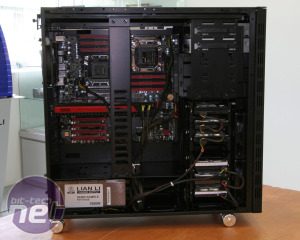 *Lian Li V1020, V2120 preview Lian Li PC-V2120 Preview: EVGA HPTX-compatible