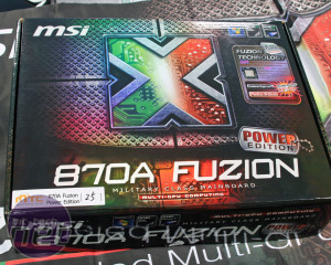 MSI 870A Fuzion Power Edition: First Look