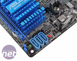 Asus M4A88T-I Deluxe Review M4A88T-I Deluxe: Board Layout