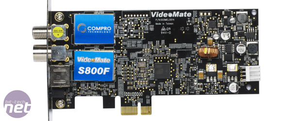 *Compro VideoMate S800F Review Compro VideoMate S800F Review