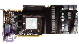 MSI N480GTX Lightning Preview N480GTX Lightning PCB and Layout