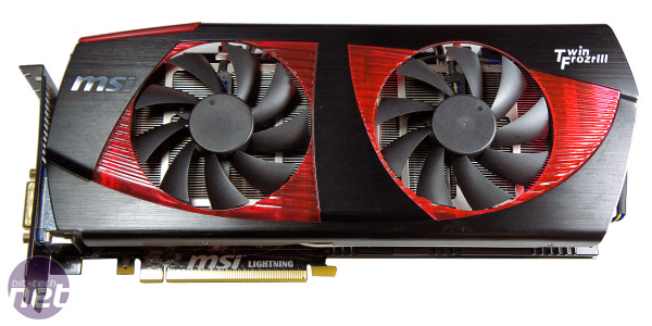 MSI N480GTX Lightning Preview