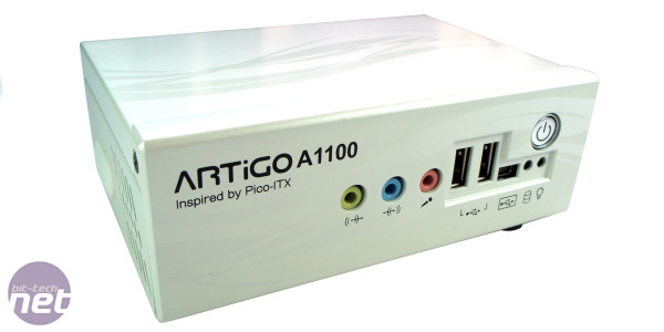 *VIA Artigo A1100 Pico-ITX kit review Artigo A1100 Test Setup